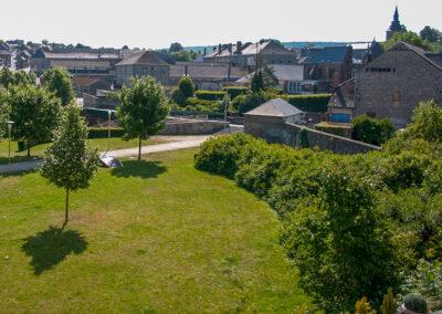 Vue du Parc Saint-Roch